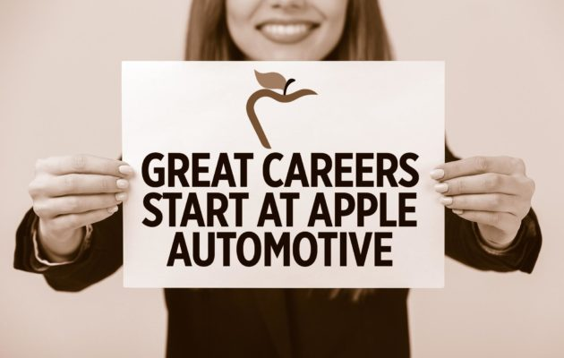 Apple Automotive Career Employment